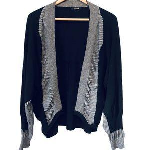 ANIMALE Wool Blend Cardigan Sweater REVOLVE black